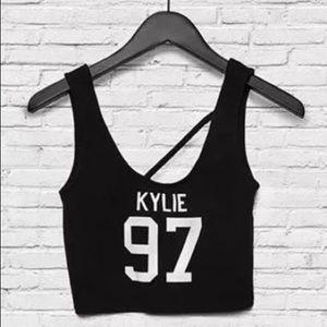 Kendall & Kylie 97' Kylie crop top